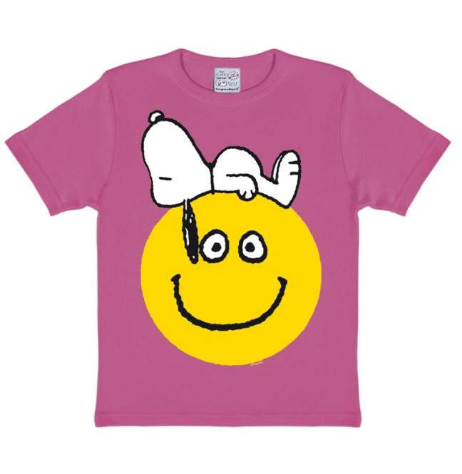PEANUTS - SNOOPY - SMILE pink | 158