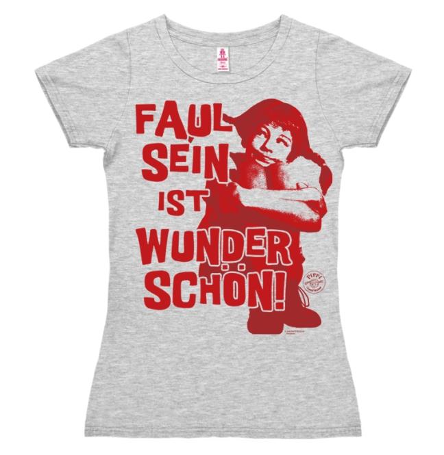 Pippi - Faul Sein grey-melange | S