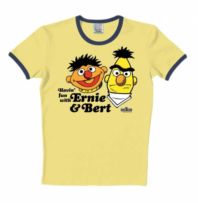Sesame St.-Ernie&Bert-Havin Fu