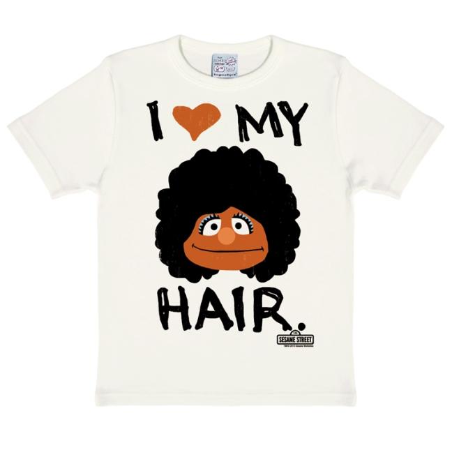 SESAME ST. - I LOVE MY HAIR almost white | 104