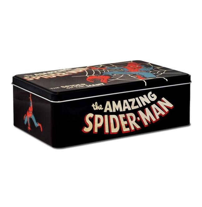 MARVEL - SPIDER MAN black | OS