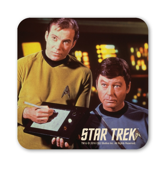 STAR TREK -KIRK AND MC COY