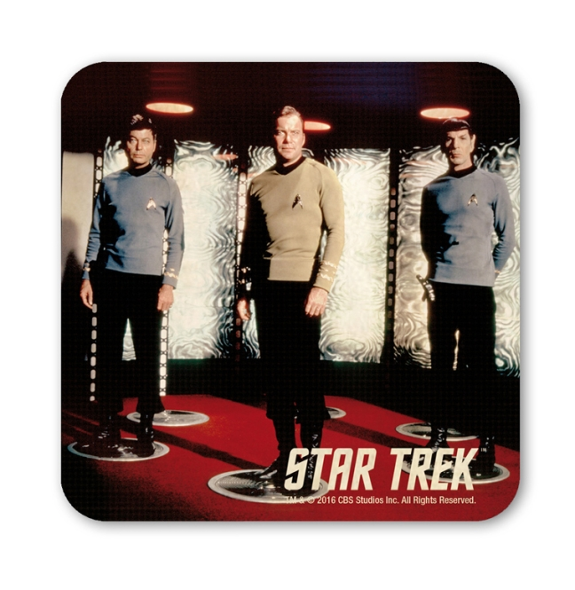 STAR TREK - MC COY,KIRK,SPOCK