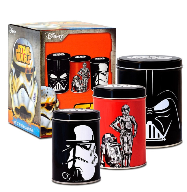CAN3SW01 Canisters Set Star Wa farbig | OS