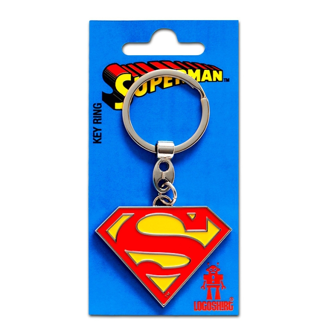 SUPERMAN - LOGO farbig | OS