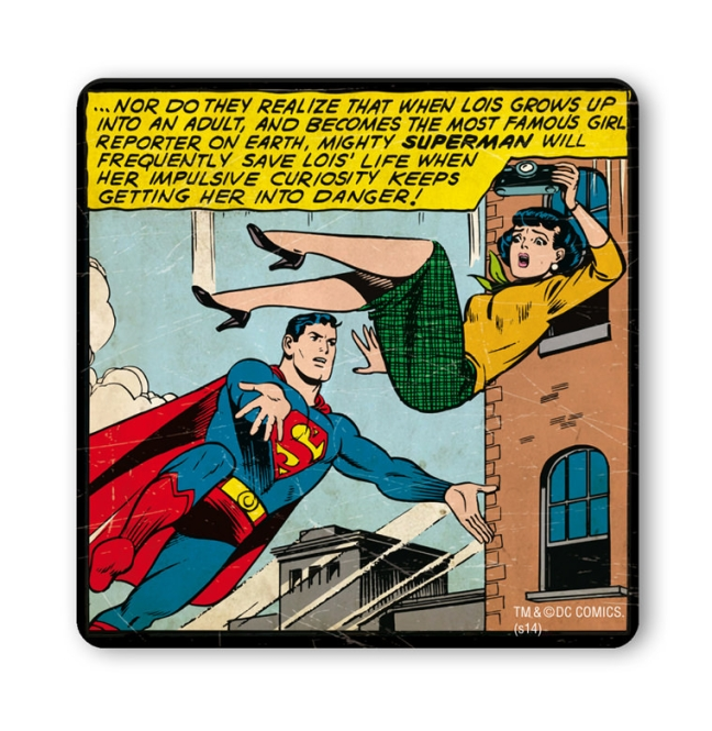SUPERMAN - SAVE LOIS' LIFE farbig | OS