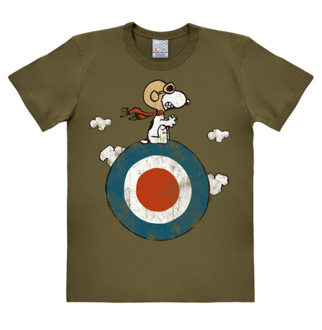 PEANUTS - SNOOPY/TARGET olive | S