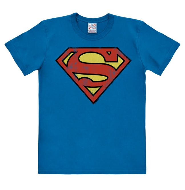 SUPERMAN - LOGO azure blue | XL