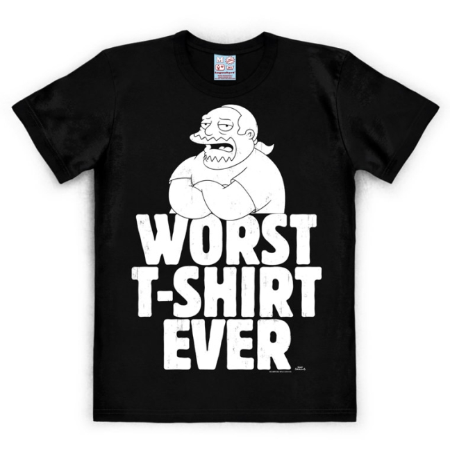 THE SIMPSONS - WORST T-SHIRT E