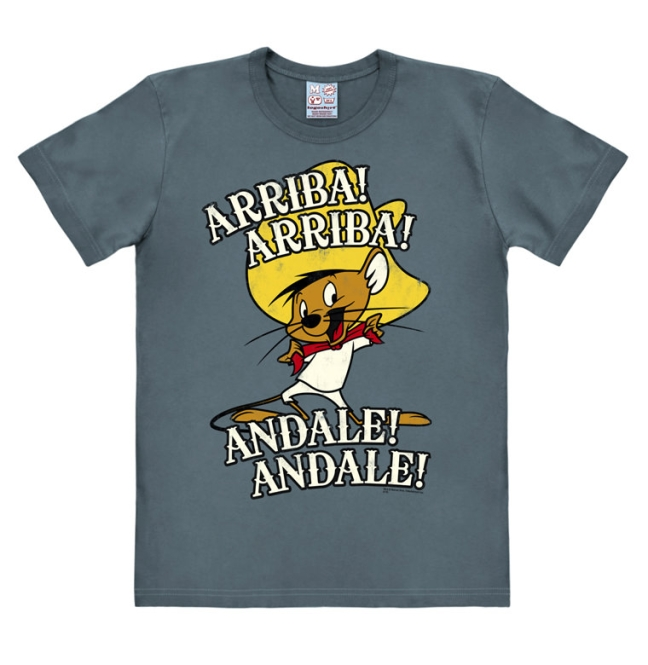 LOONEY TUNES - ARRIBA! ANDALE! stone blue | XS