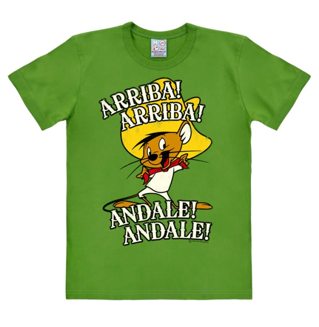 LOONEY TUNES - ARRIBA! ANDALE! light olive | L