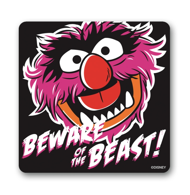 MUPPETS - BEWARE OF THE BEAST black | OS