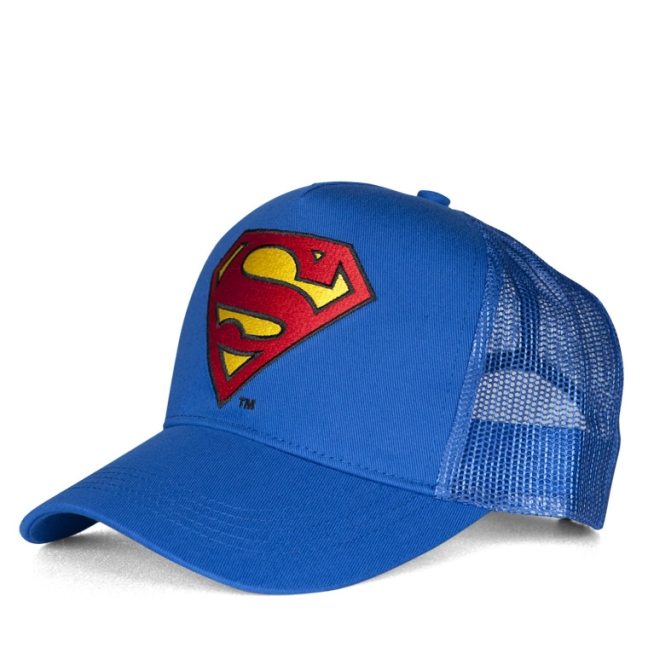 SUPERMAN - LOGO azure blue | OS