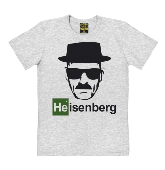 HEISENBERG grey-melange | M