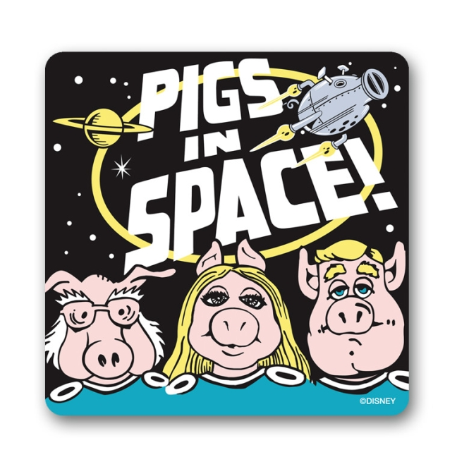 MUPPETS - PIGS IN SPACE black | OS