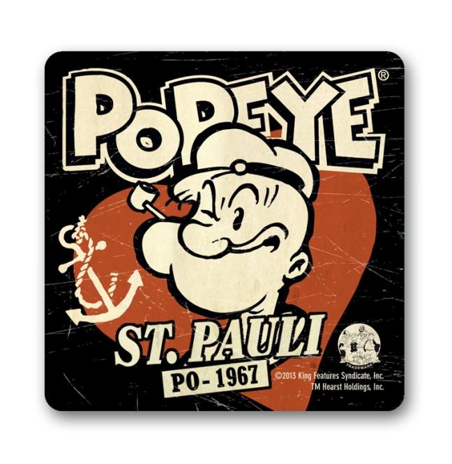 POPEYE - ST. PAULI black | OS