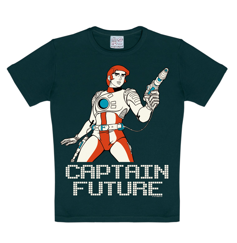 Captain Future Science Fiction Kinder T Shirt CAPT FUTURE KIDS