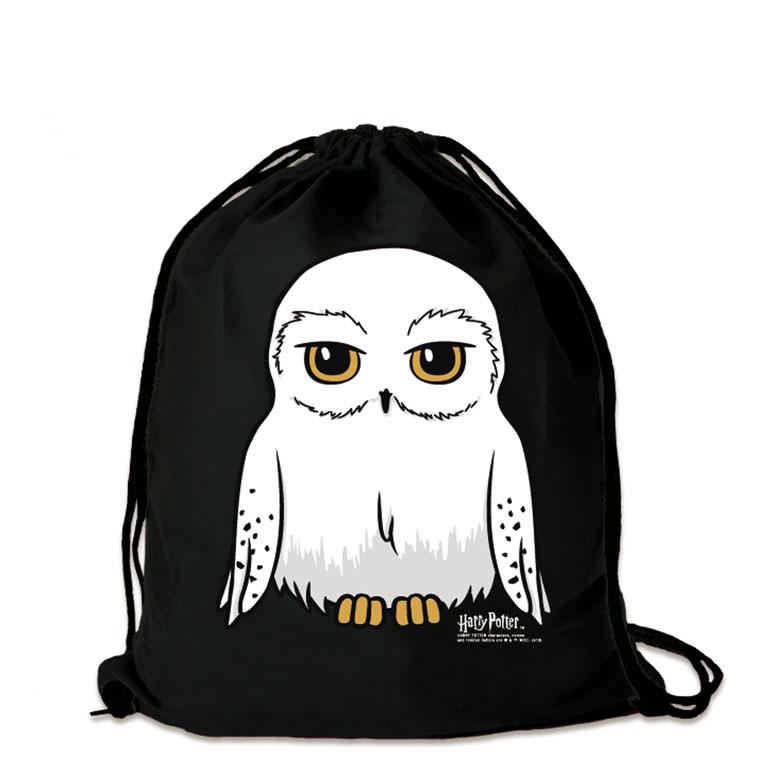 LOGOSHIRT Hedwig Eule Baumwollrucksack Harry Potter Turnbeutel