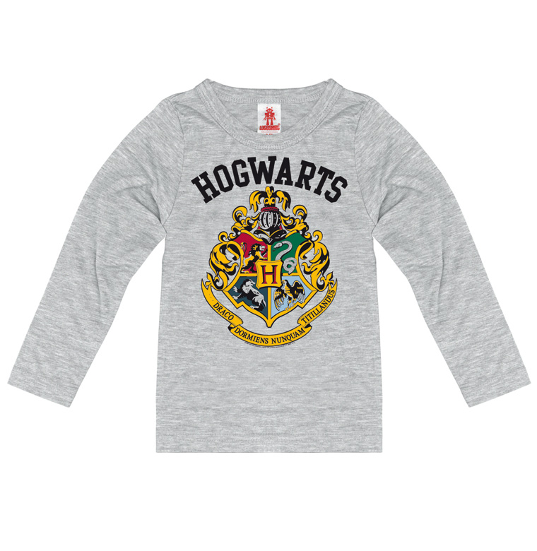 Harry Potter Hogwarts Crest Logo Boy/'s//Kids T-Shirt