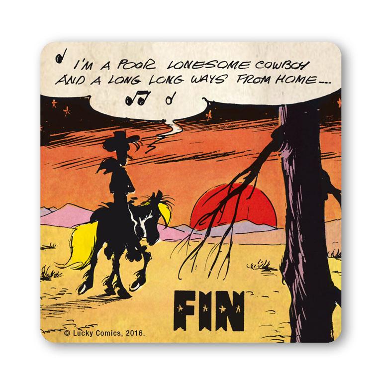 Untersetzer Lucky Luke - Poor Lonesome Cowboy Lucky Luke - Poor ...