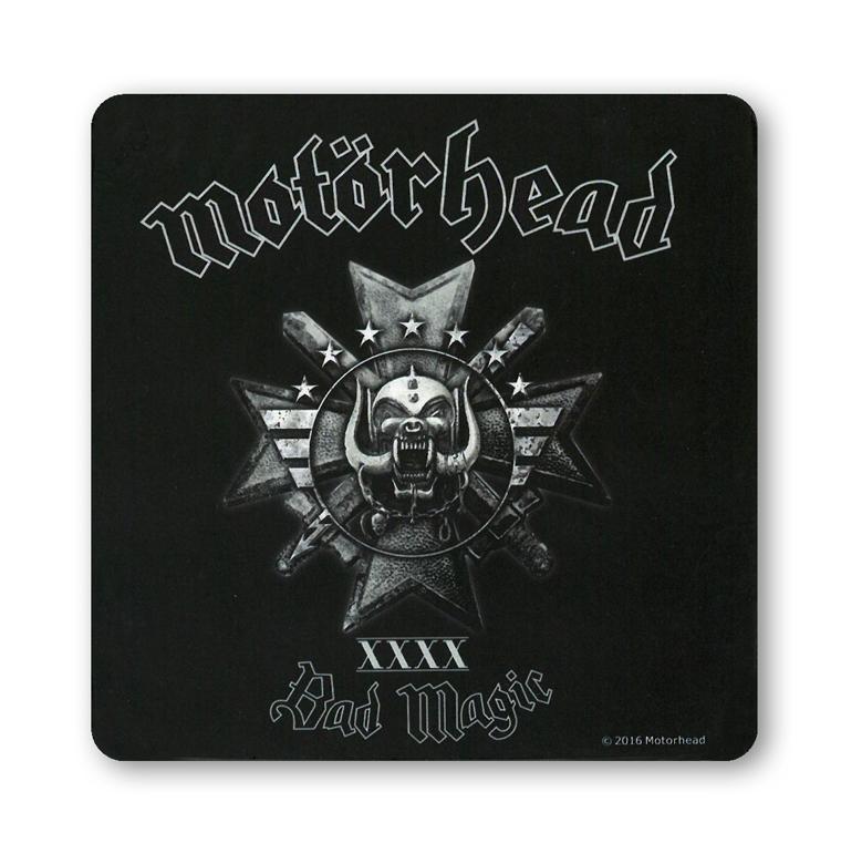 MotÖrhead Bier & Bierdeckel Musik 4er Set Untersetzer Coaster Set