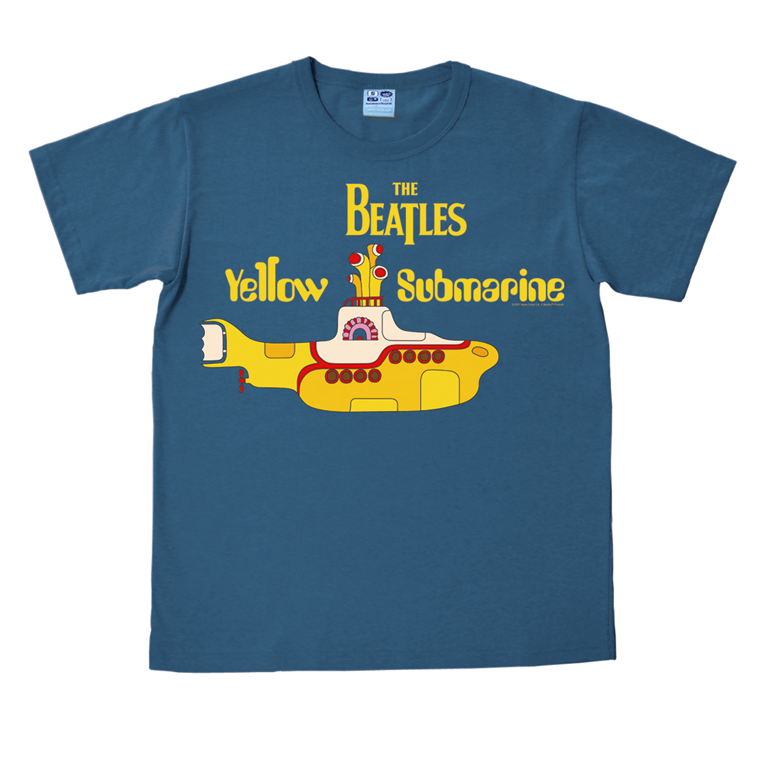 vintage yellow submarine the beatles herren t shirt. Black Bedroom Furniture Sets. Home Design Ideas