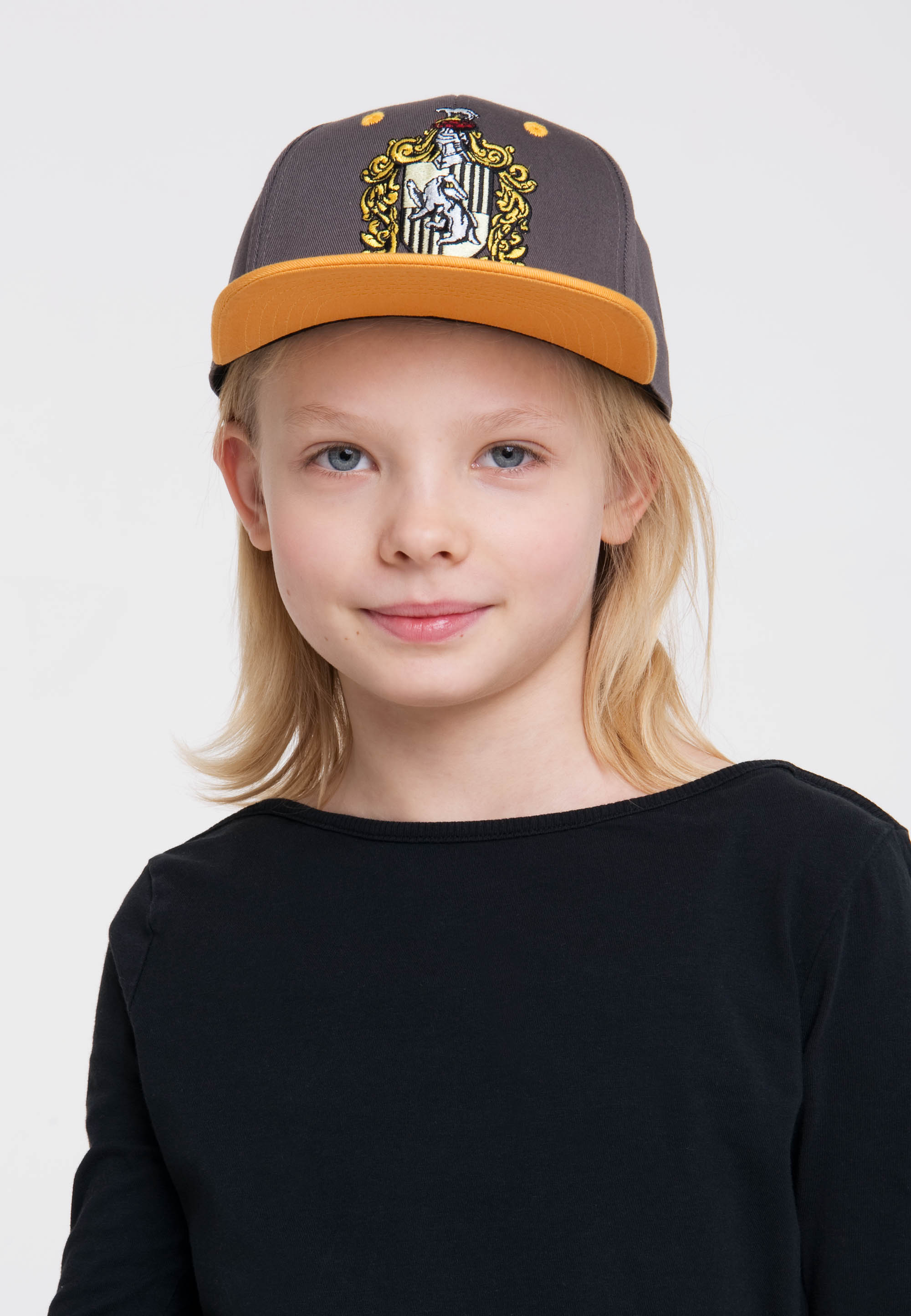 LOGOSHIRT Harry Potter Kinder Gryffindor Logo Snapback 2-Tone Cap Kappe